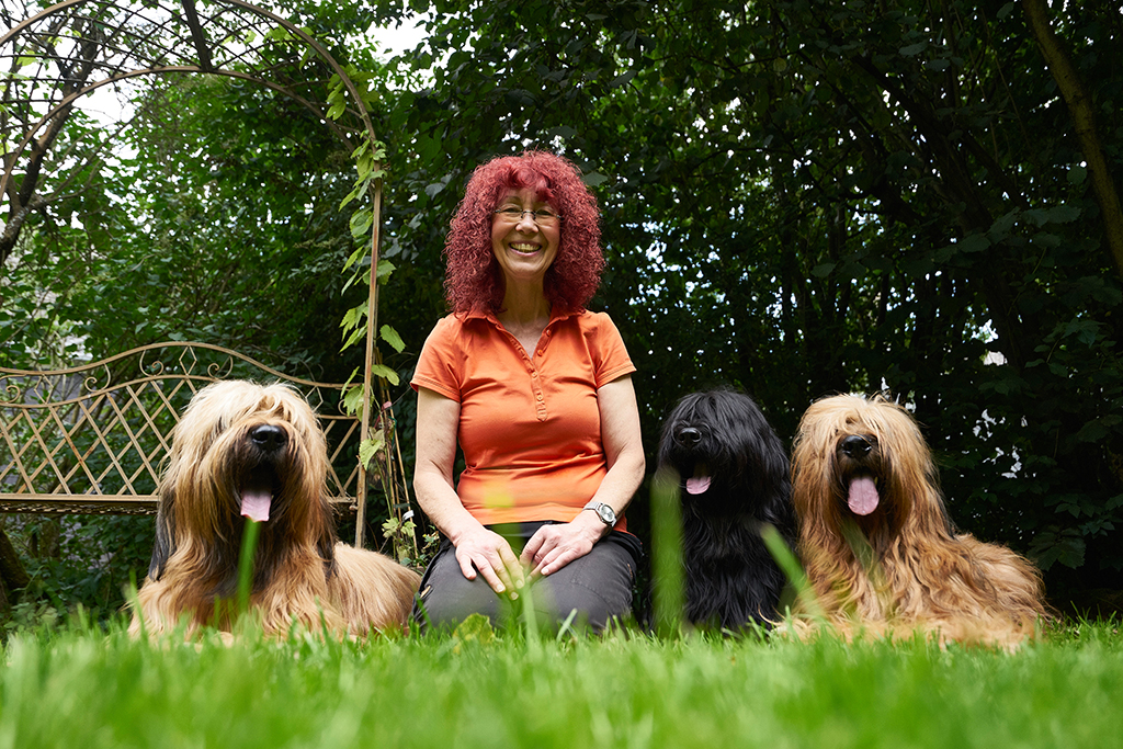 Uschi Loth und Hunde